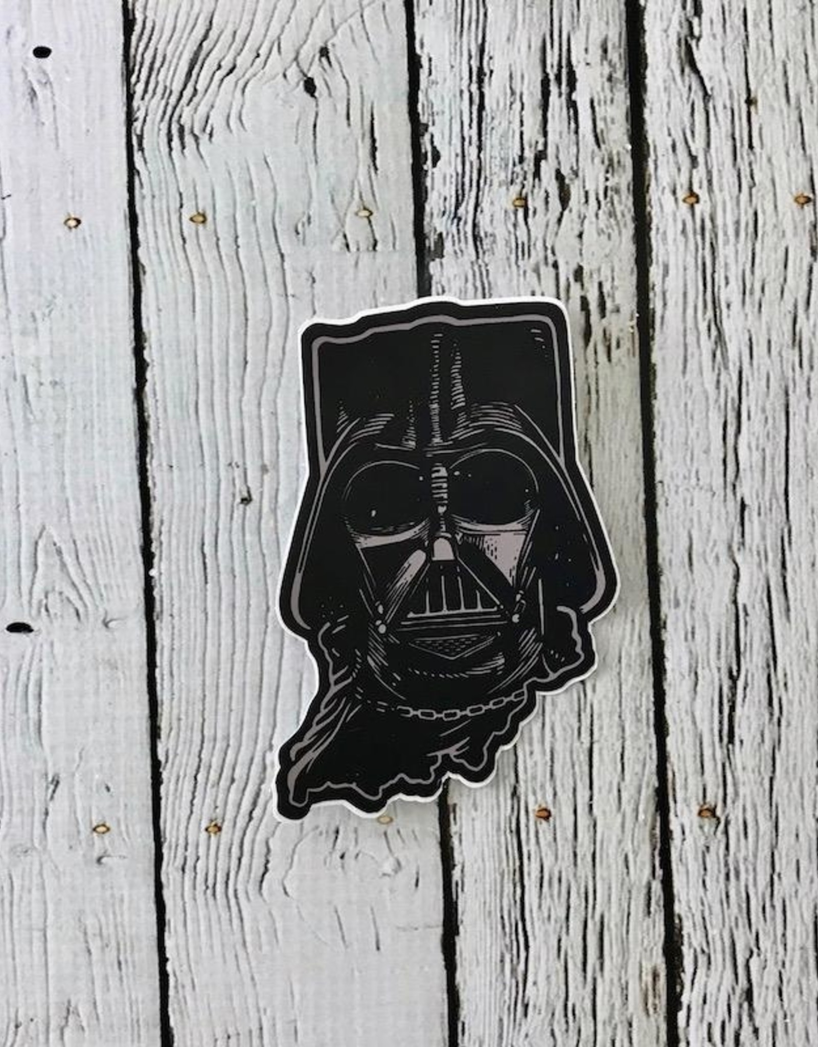 USI Indiana Darth Vader Sticker