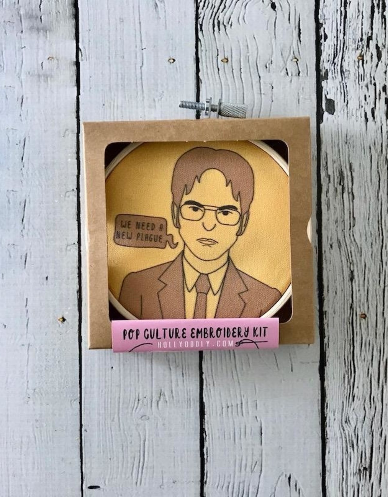 Dwight Schrute Embroidery Kit