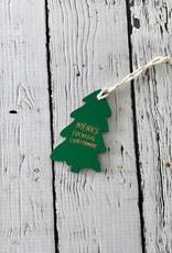Merry F*cking Chriatmas Tree Ornament