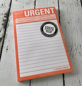 KnockKnock Not At All Urgent Great Big Stickies