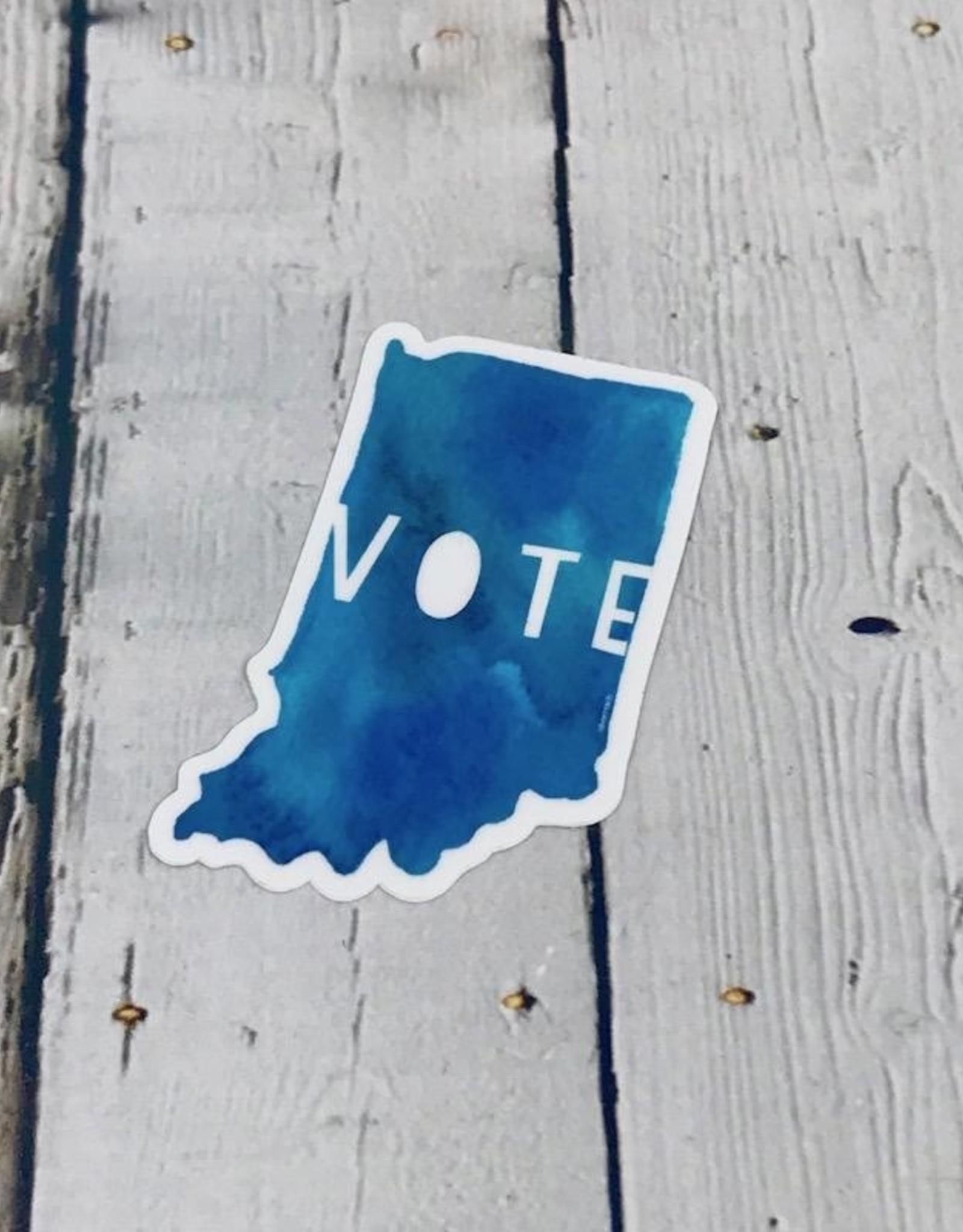 Vote Indiana Sticker