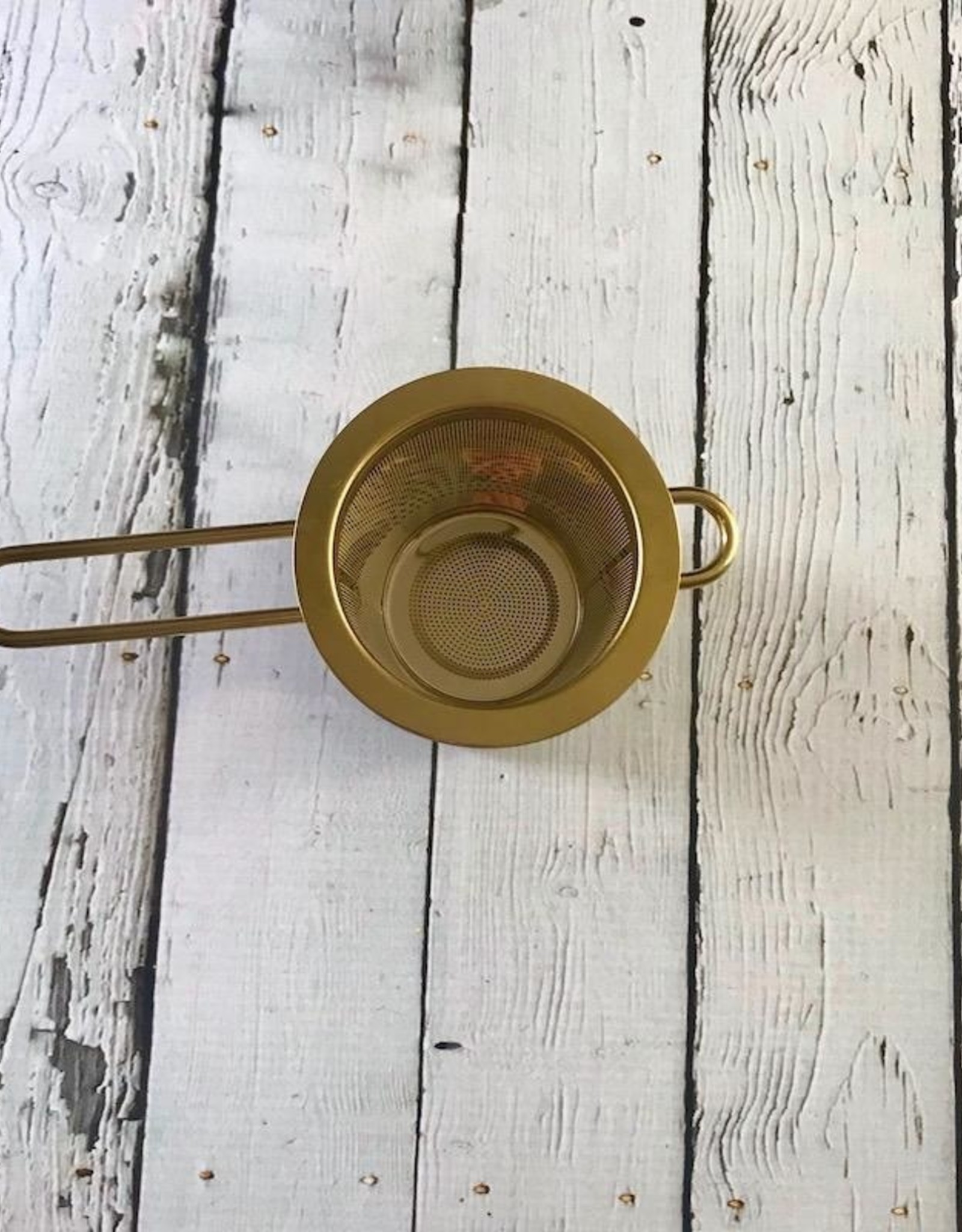 Gold Stainless Steel Tea Infuser