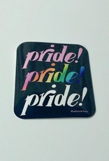 Rainbow Pride! Sticker