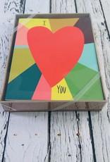 Big Heart Notecard Boxed Set