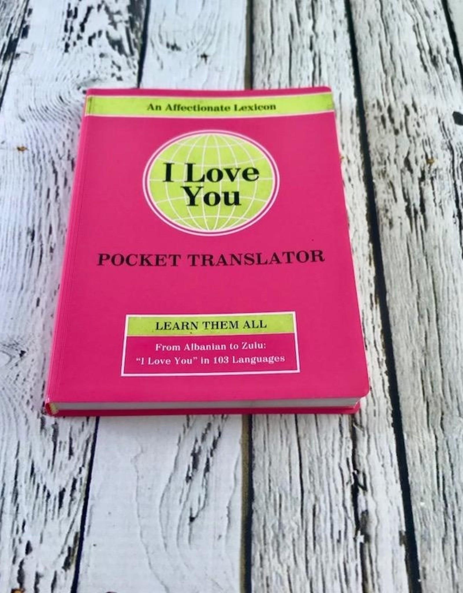 KnockKnock I Love You Pocket Translator