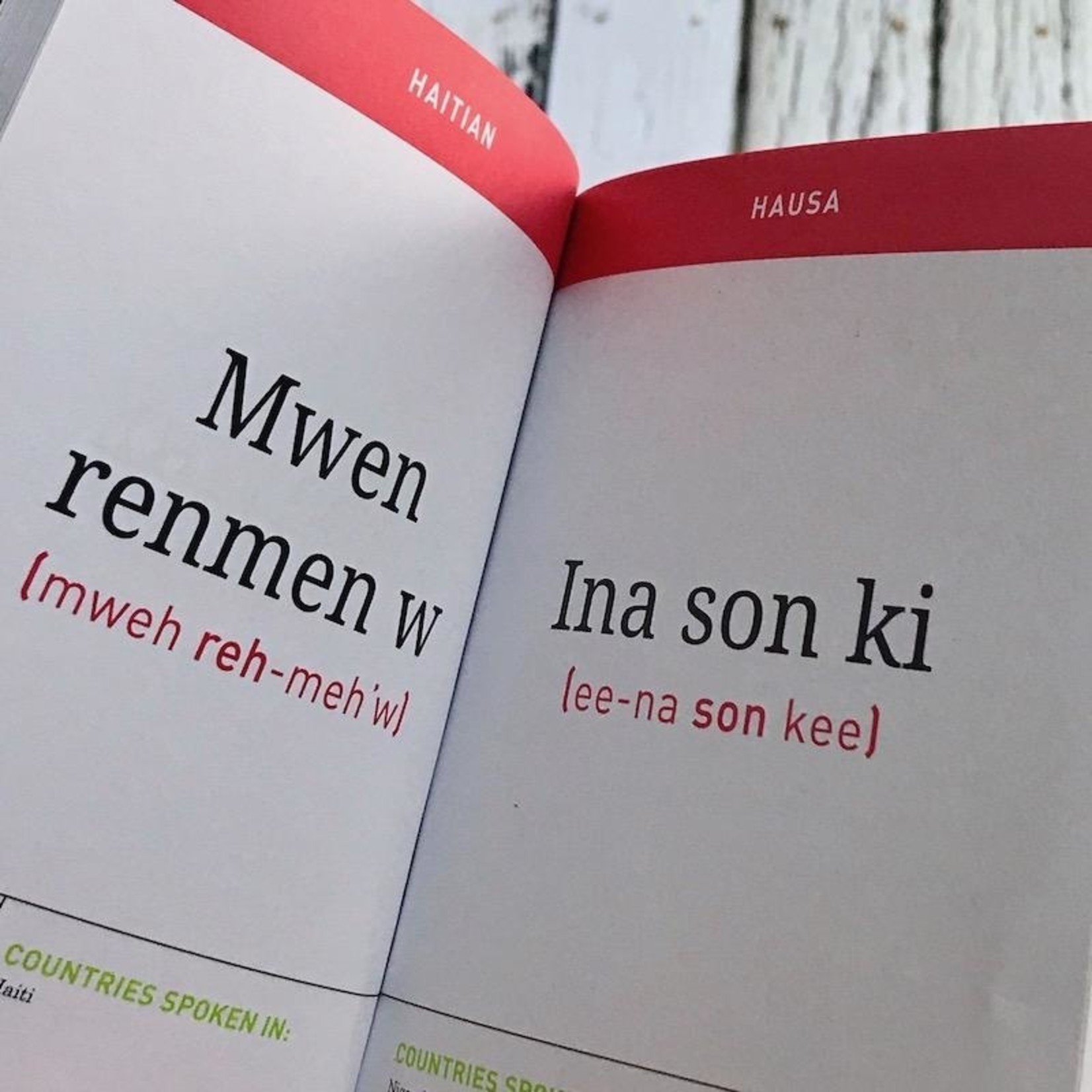 I Love You Pocket Translator