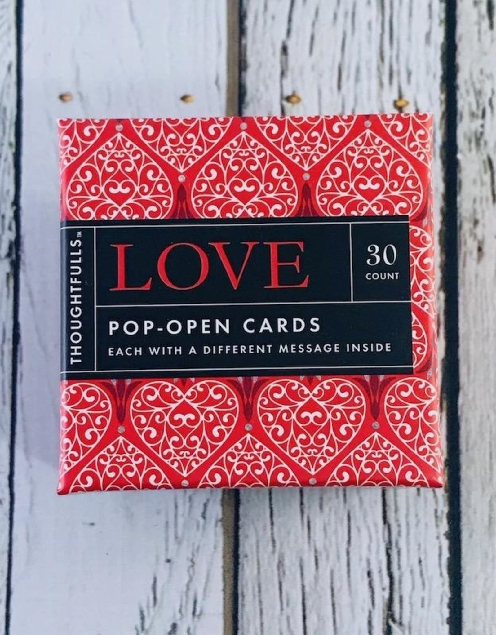 Love Thoughtfuls Box, set of 30 window cards