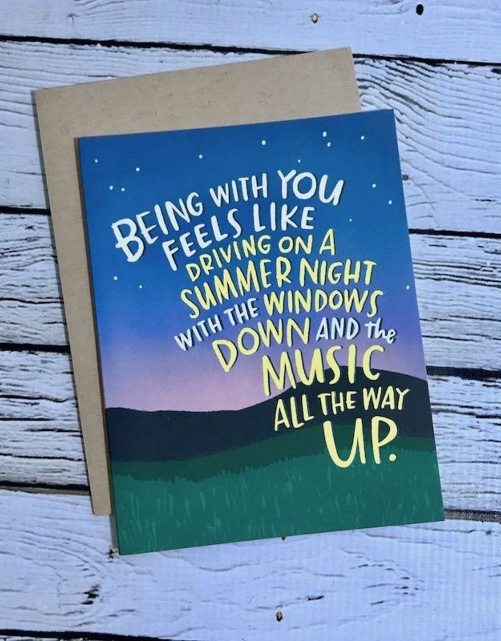 emily mcdowell Summer Night Card
