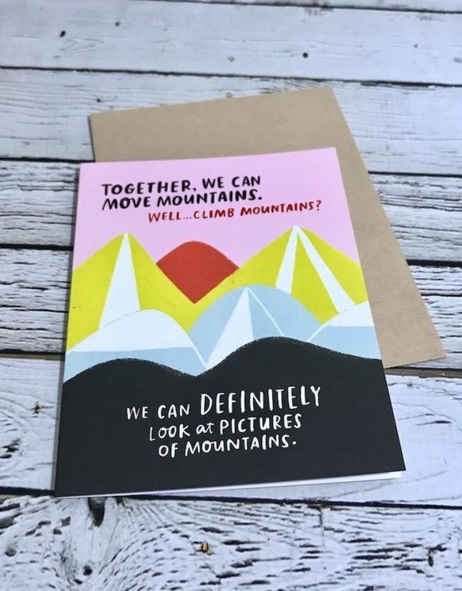 Move Mountains Card