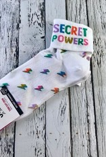 Secret Powers Turn Cuff Women's Socks