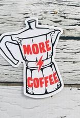 More Coffee Sticker