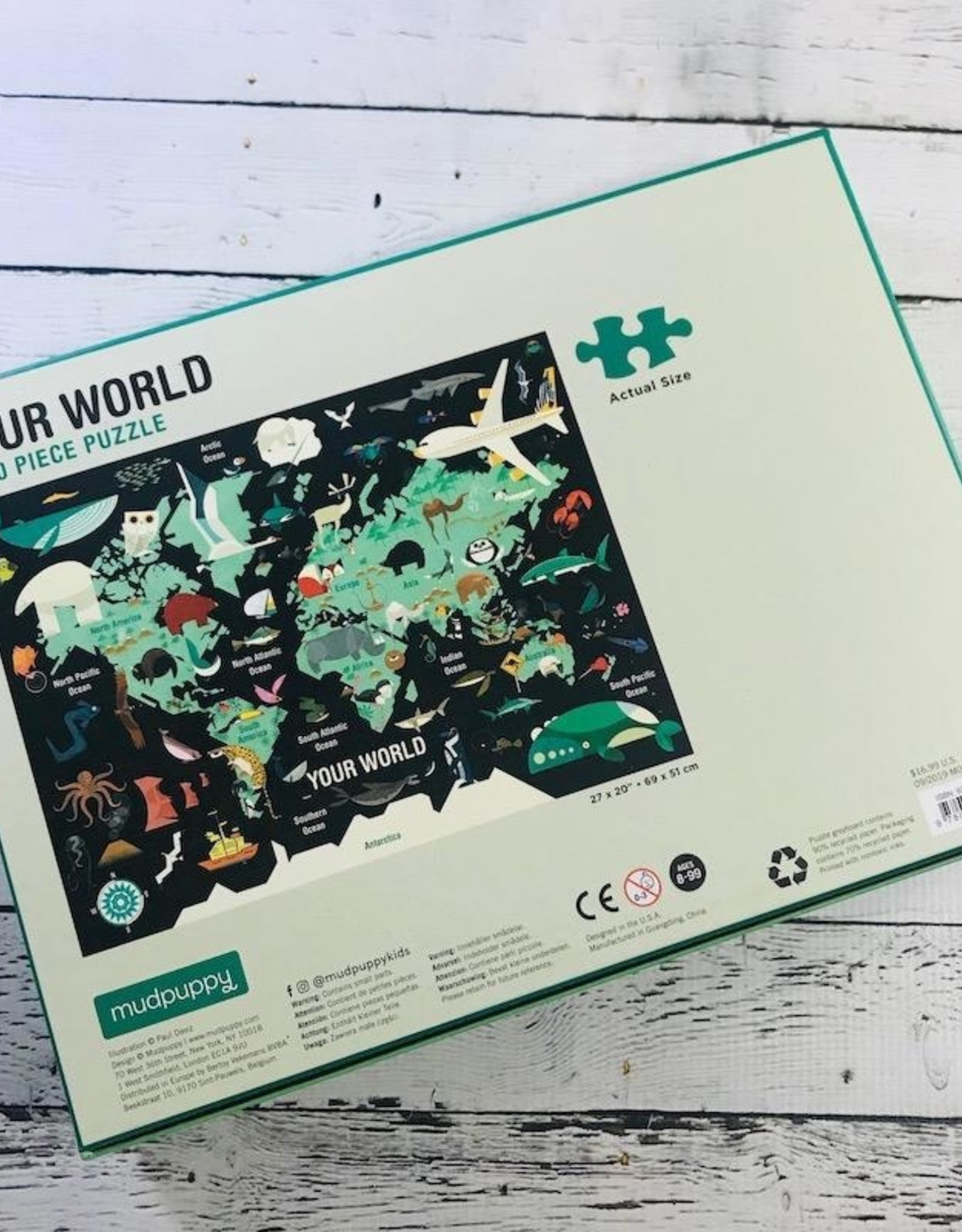 Your World 1000 piece Puzzle