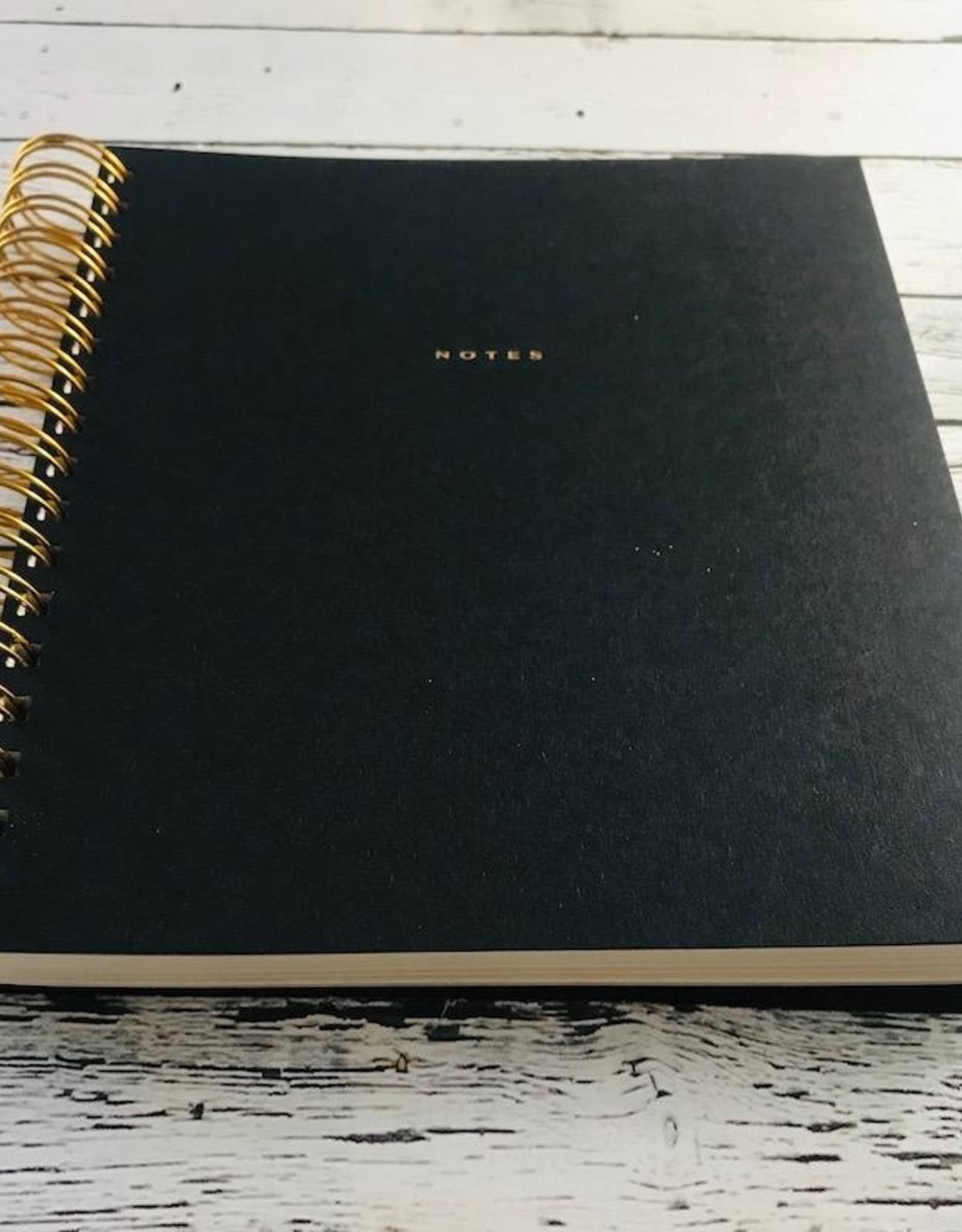 Noir Spiral Notebook