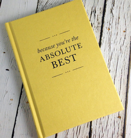 Compendium Because you're the absolute best gift book