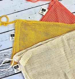 Coral Set Le Marche Produce Bags