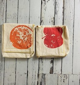 Apples & Oranges Snack Pack Set of 2