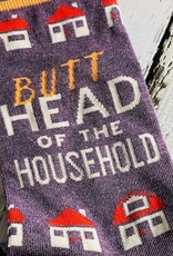 BlueQ Butthead Household Men's Crew Socks