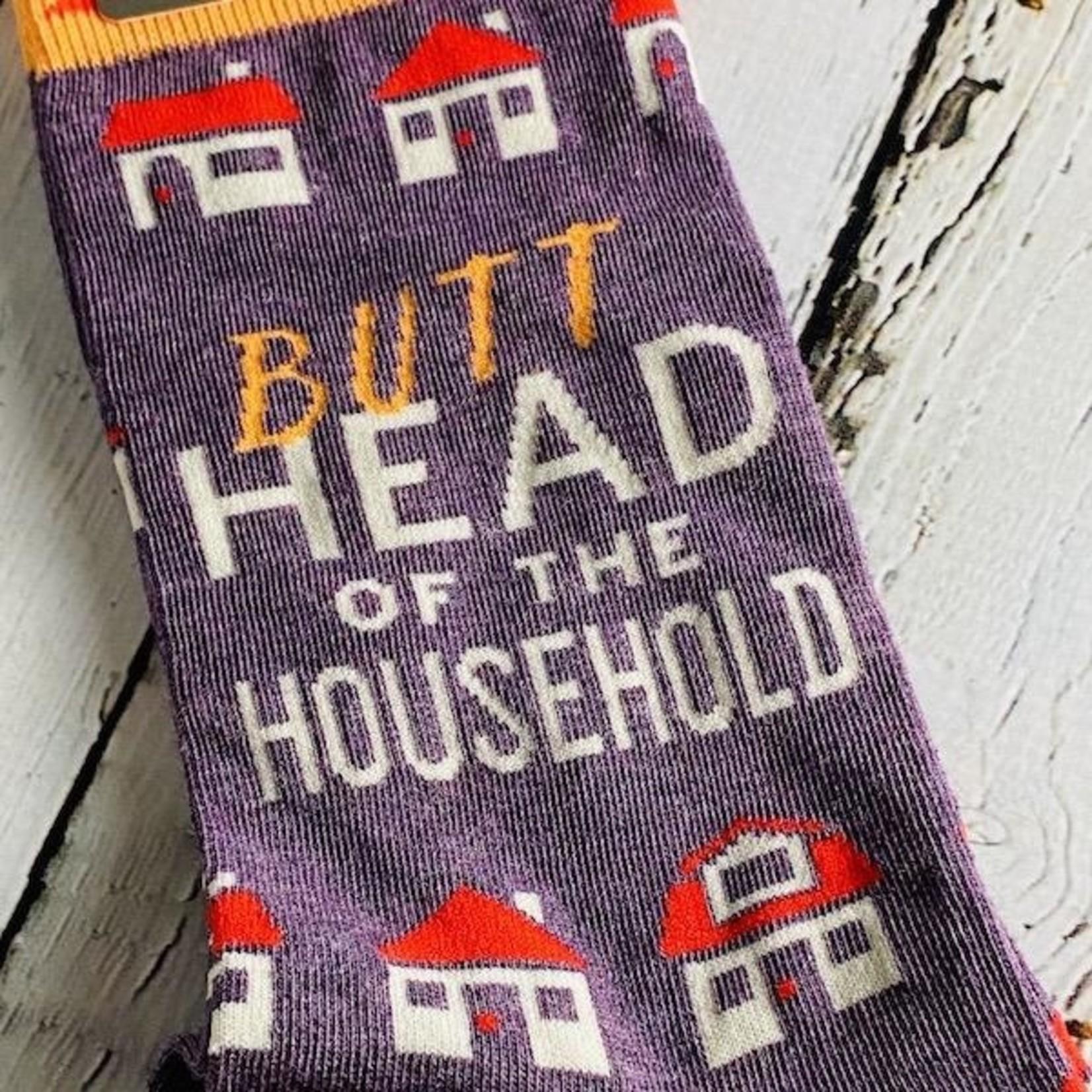 Butthead Household Men's Crew Socks