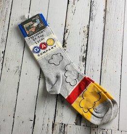 BlueQ President GAS Co. Men's Crew Socks