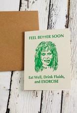 Guttersnipe Press Exorcist Get Well Card