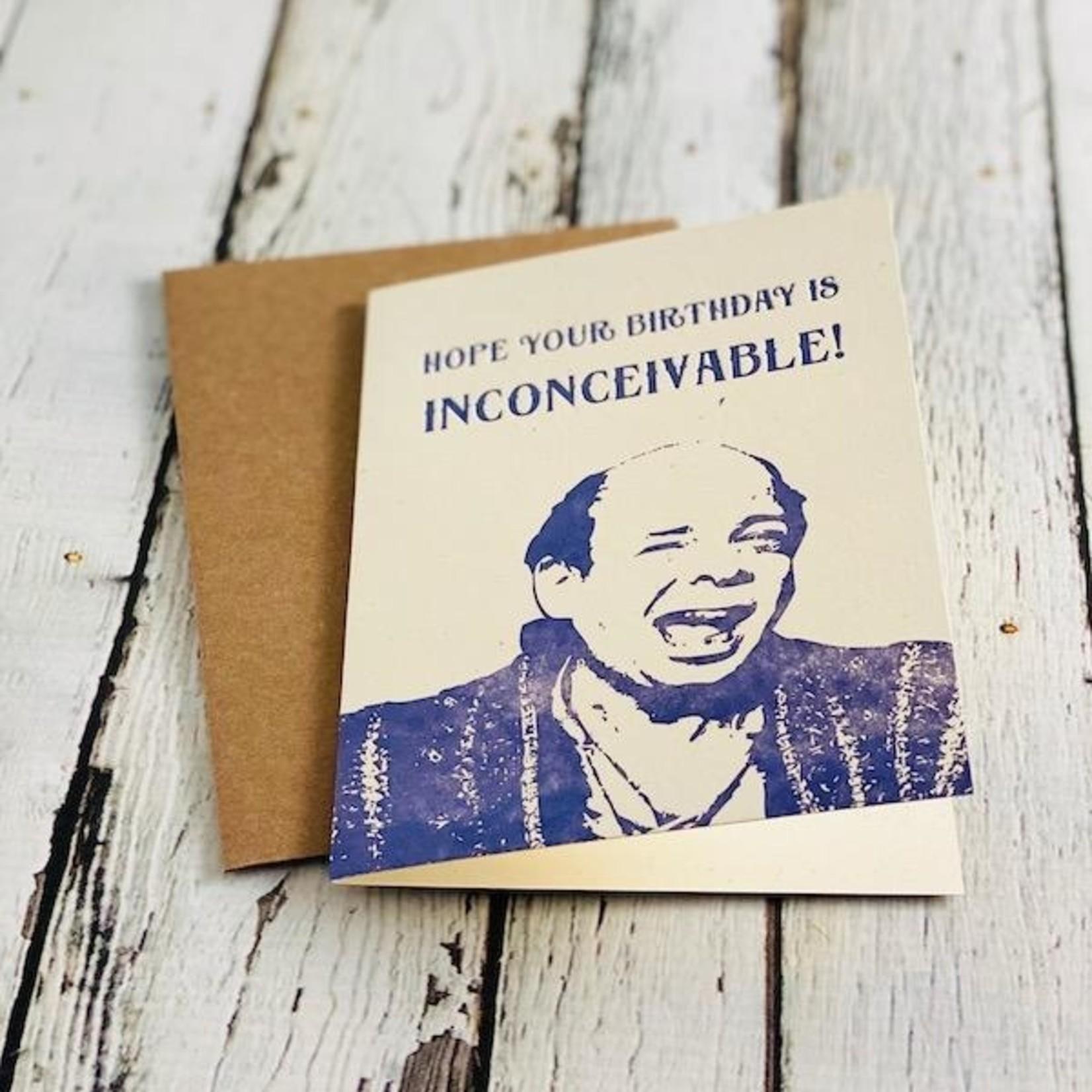 Inconceivable Birthday Card
