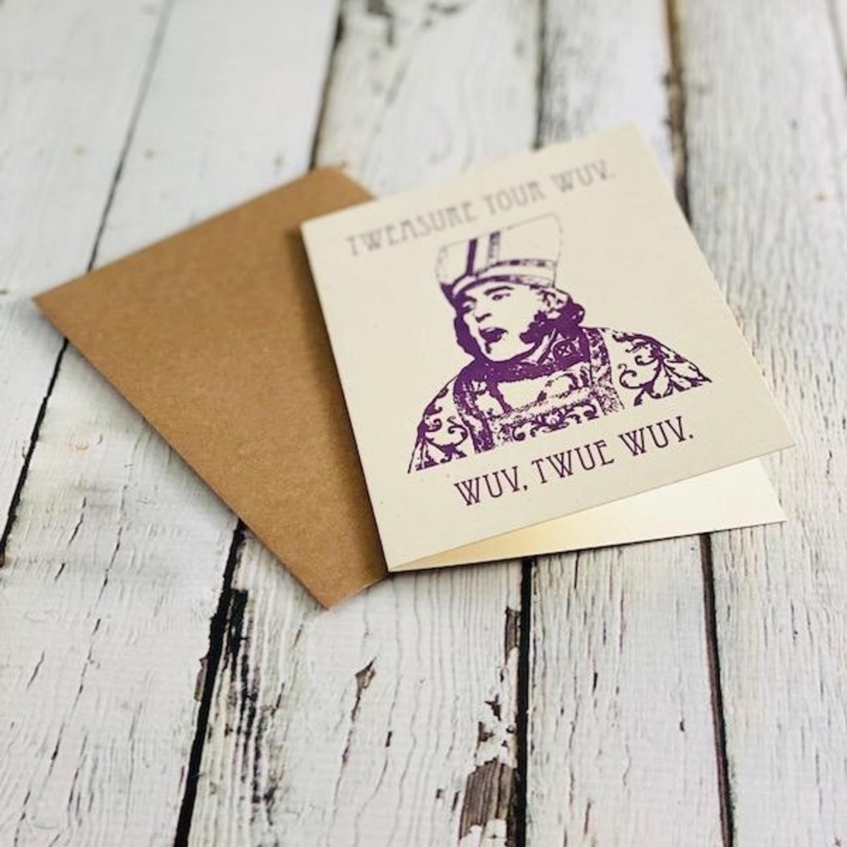 Twue Wuv Card