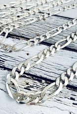 Sterling Silver Heavy Figaro 300 (10mm) Chain