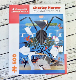 POMEGRANATE Charley Harper Coastal Creatures 500-pc Puzzle