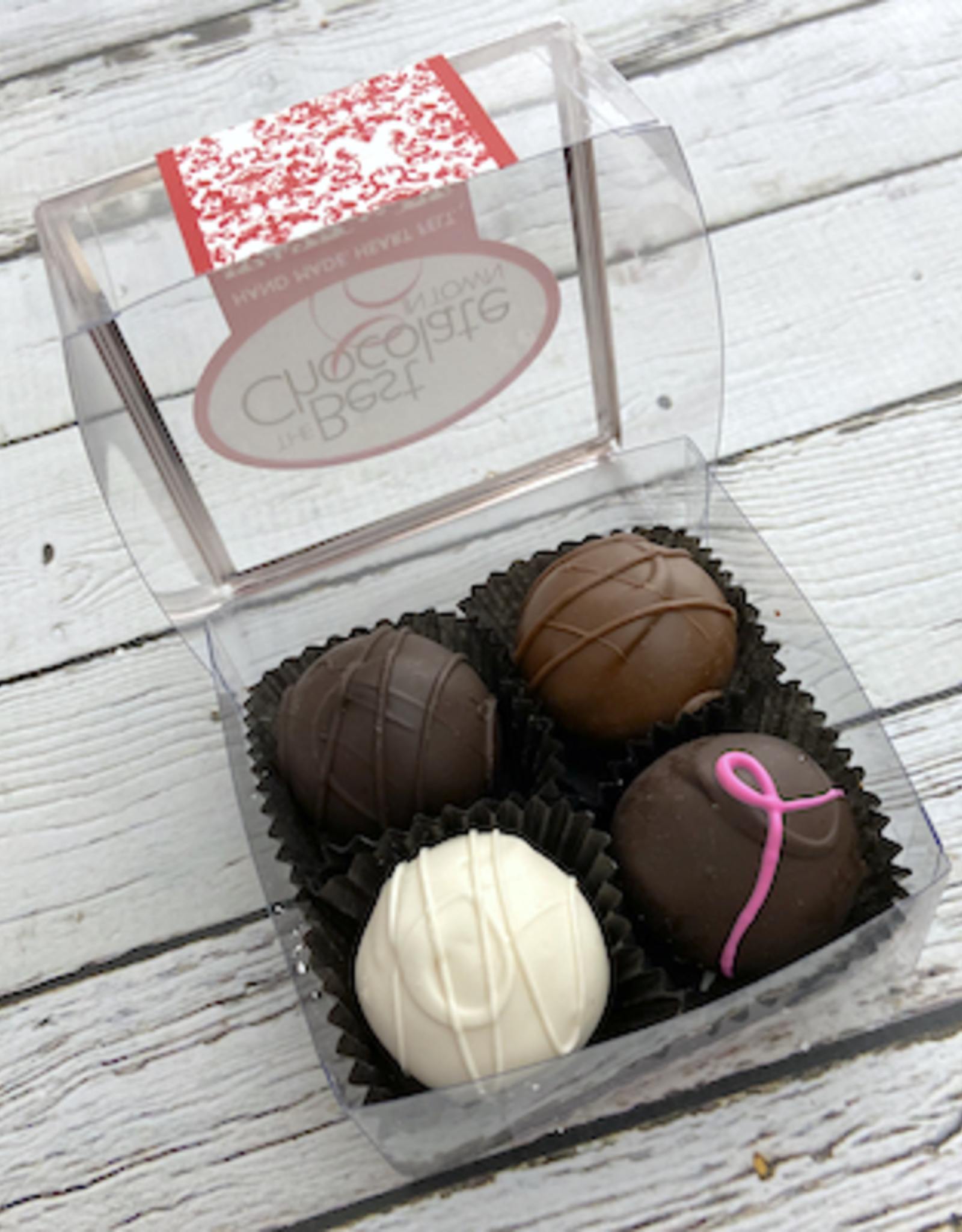 BESTCHOC 4-pc Chocolate Truffle Sampler from Best Chocolate in Town