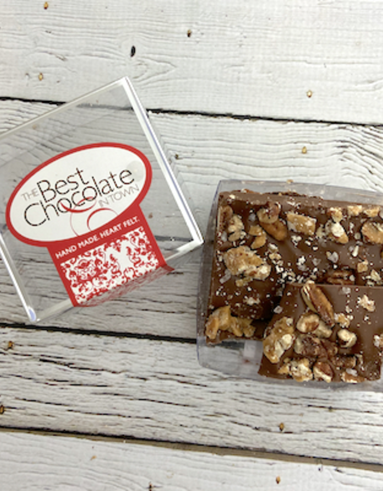 FRITTLE Chocolate Salted Turtle Bark from Best Chocolate in Town