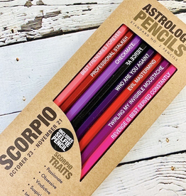 Scorpio Astrology Pencils