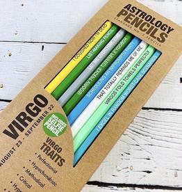 Virgo Astrology Pencils