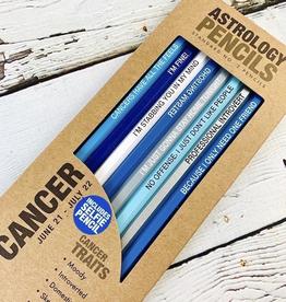 Cancer Astrology Pencil Set