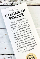 Pencils for Grammar Police