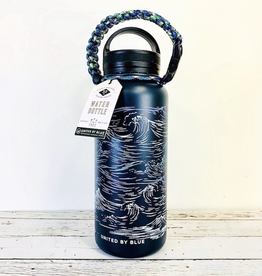 Waves Insulated 32oz Water Bottle