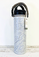 United by Blue Topography 22oz Insulated Steel Water Bottle
