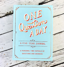 One Question a Day A Five-Year Journal