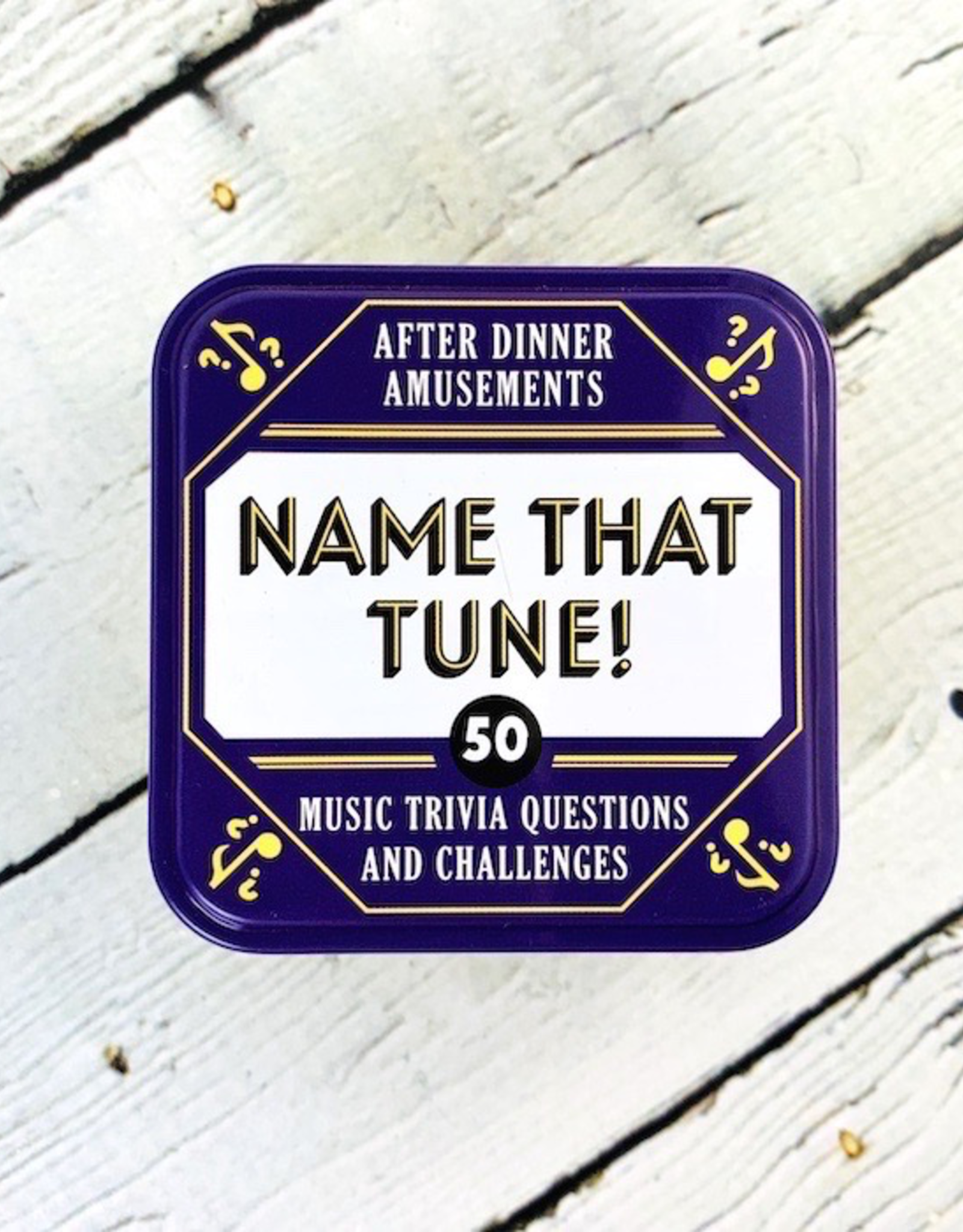 After Dinner Amusements: Name That Tune! 50 Music Trivia Questions and Challenges