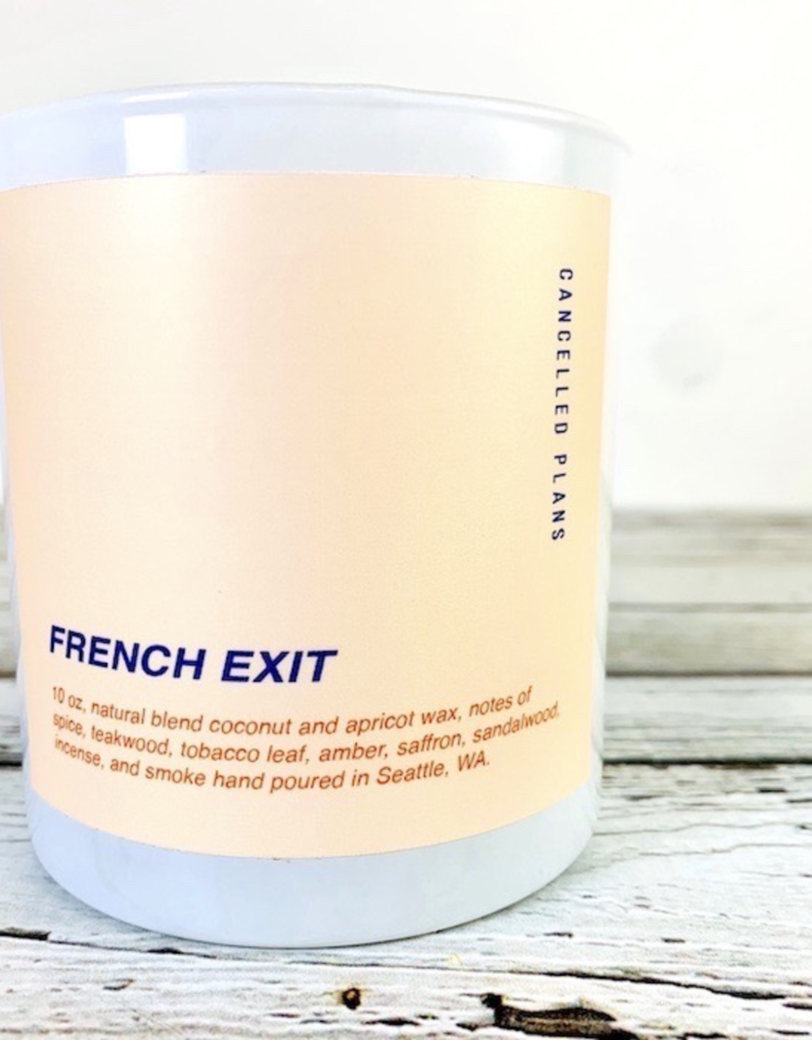 French Exit Candle 10oz