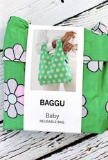 Green Daisy Baby Baggu