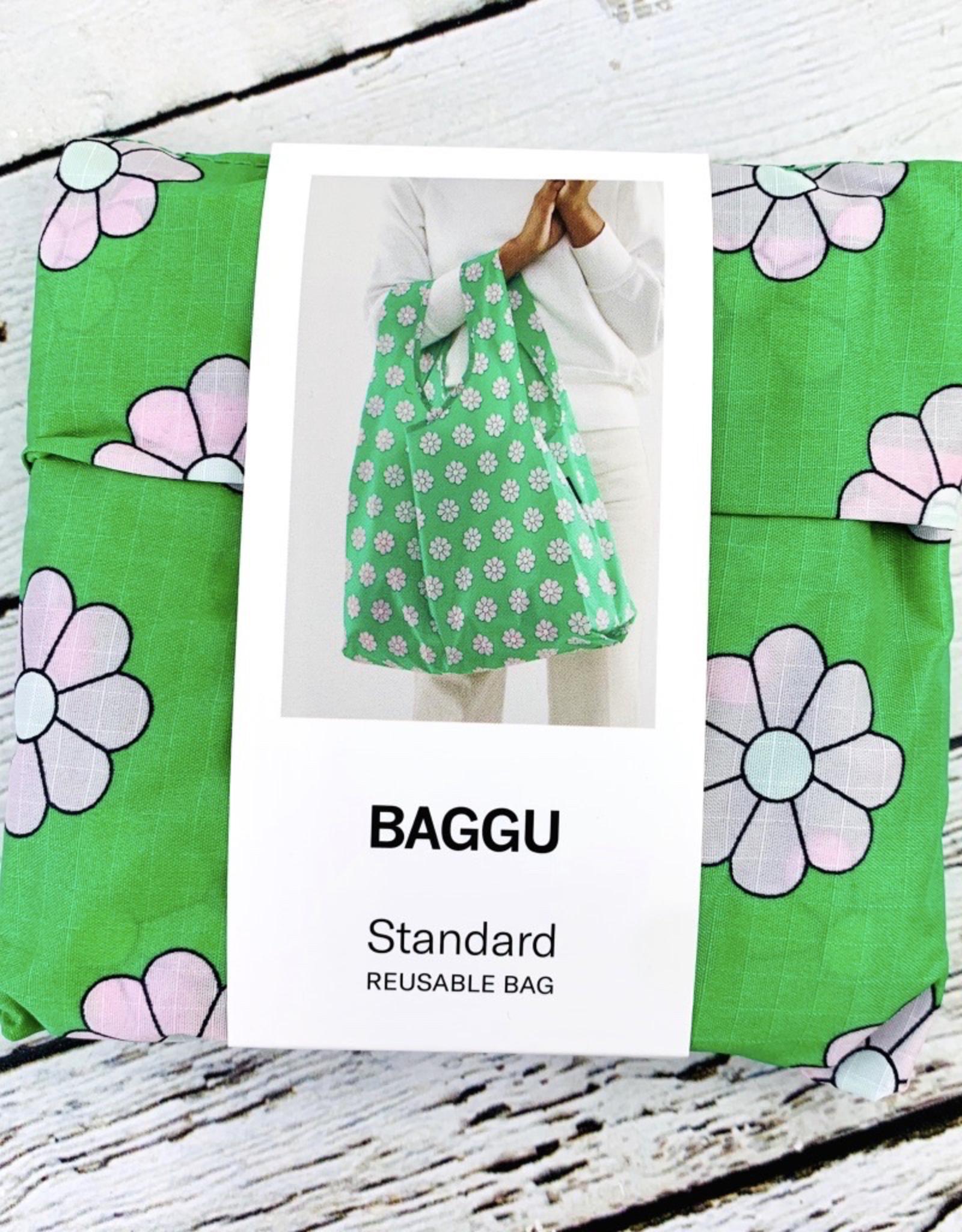 Green Daisy Standard Baggu