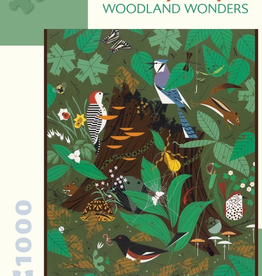 POMEGRANATE Charley Harper: Woodland Wonders 1000-pc Puzzle