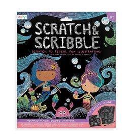 Scratch & Scribble Art Kit: Mermaid Magic