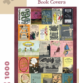 EDWARD GOREY'S BOOK COVERS 1000-PIECE JIGSAW PUZZLE
