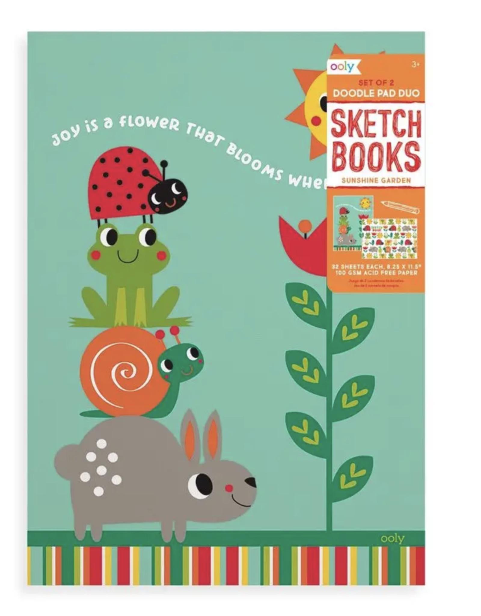 Doodle Pad Duo Sketchbooks: Sunshine Garden
