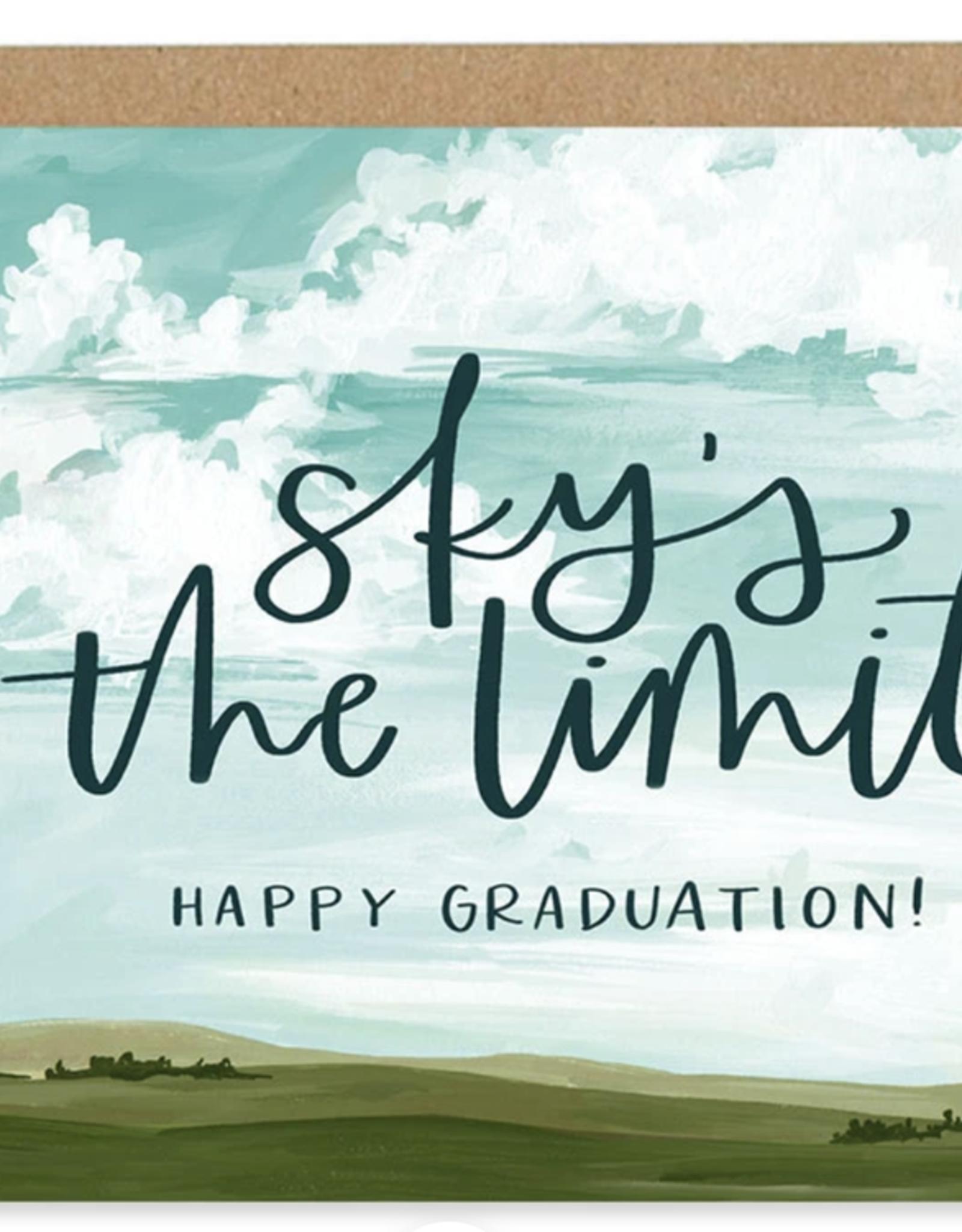 ONECANOETWO Graduation Sky Card