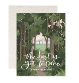 ONECANOETWO Wedding Woods Card