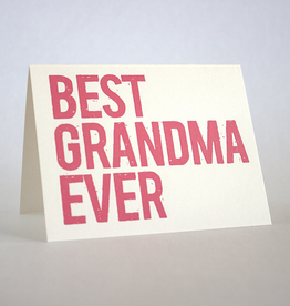 Fugu Fugu Press Best Grandma Ever Card