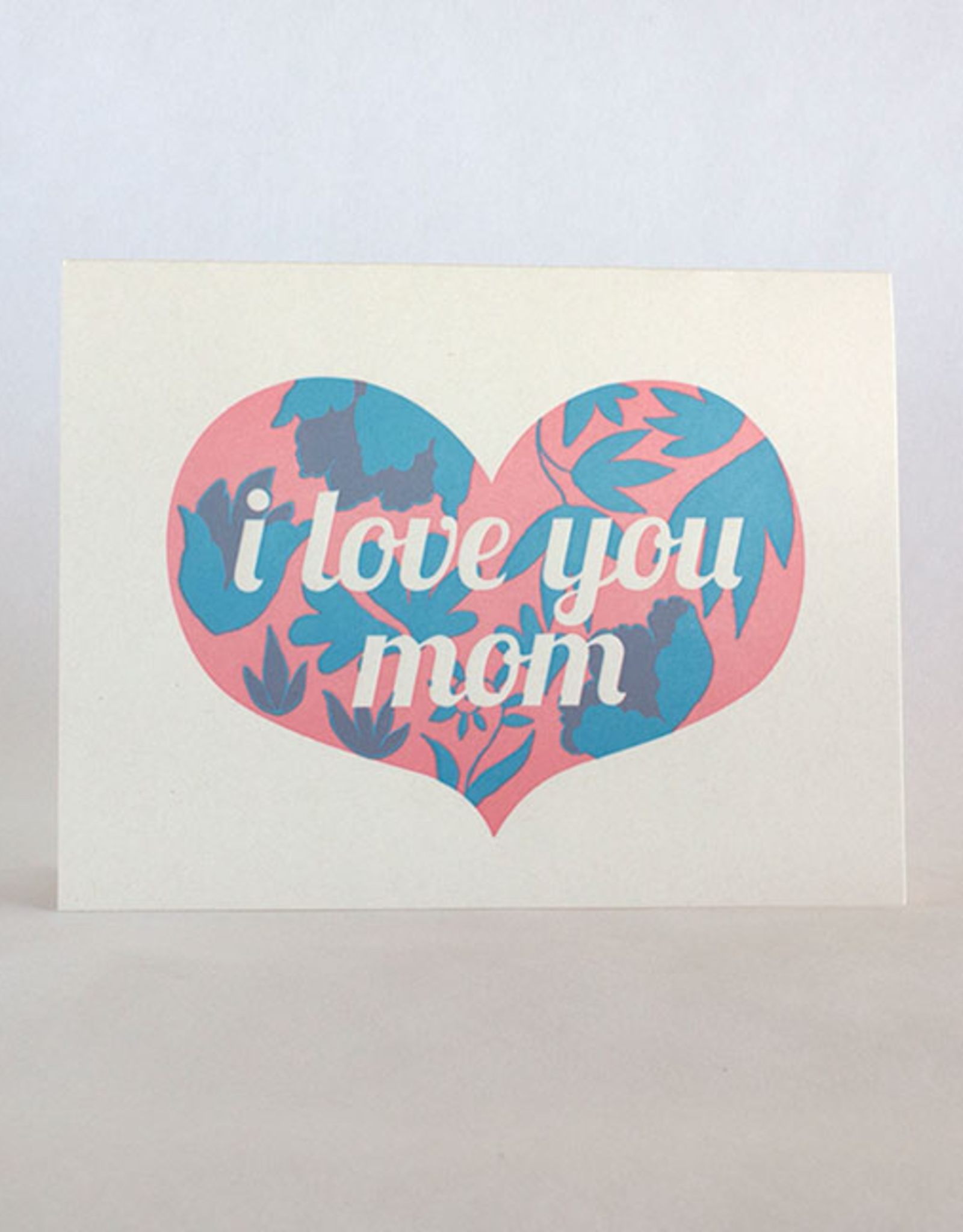 Mother's Day Heart Floral Card