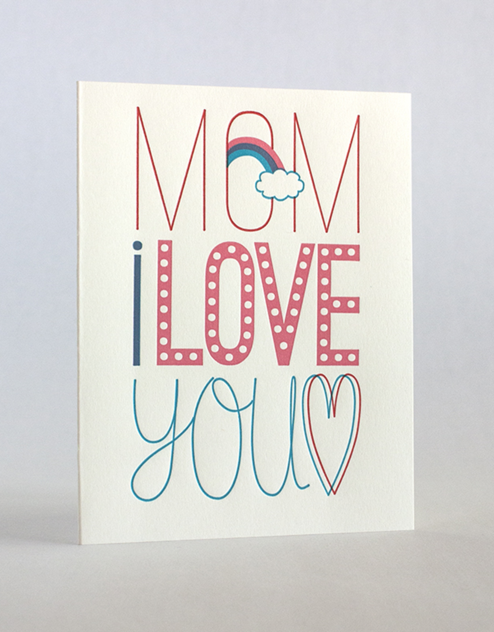 Mom's Fun Fonts Card